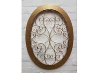 Gold Wall Plaque (DELIVERY AVAILABLE)