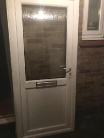 Upvc front door in the frame width 920 height 2060