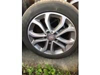 MERC E CLASS COUPE ALLOYS WHEELS AND TYRES