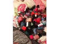 108 nail varnishes some used a little but most new