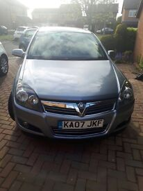 Vauxhall Astra SXI 2007 1.4 petrol, Silver