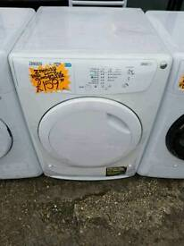ZANUSSI 8KG CONDENSER DRYER IN WHITE