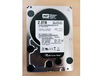 Western Digital Black 2TB 7200 RPM 64MB Cache