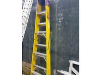 1 fibre glass step ladders for sale