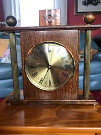 Wooden Masonic Clock