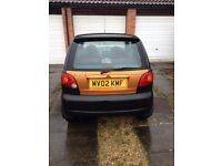 Daewoo Matiz 2002 great condition 11 months MOT
