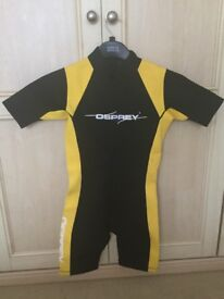 Child's wetsuit age 11/12 years.