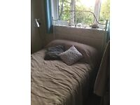 Bed frame and mattress IkEa - used twice