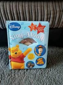 Disney sing along book