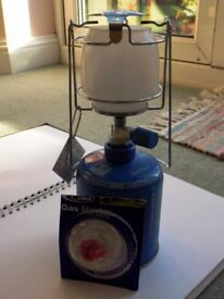 Camping Gaz lumogaz 270 80w camping light with 2 spare mantles