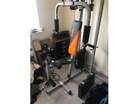 Good quality multi gym, hardly used.