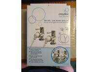 Croydex Secura Safe Shower Spray Set