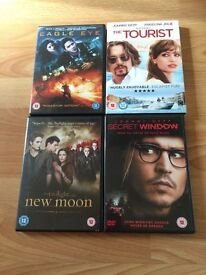 Reduced..8 DVD'S