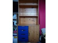 Hygena Pine Bedroom unit