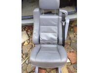 Mercedes Vito rear leather seat