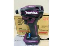 Makita King of Impact Drivers TD172D TD172DZAP Authentic Purple 18V Body Tool Only 2021