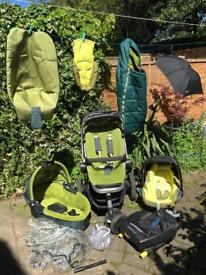 Quinny Buzz 3 complete Travel System very good condition Pram