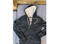 Cute and cozy zip-up Hoodie for fall and winter (size M)