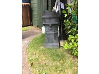 Large crown chimney plant pot
