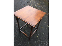 Lovely barley twist table in good condition Feel free to view