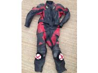 Frank Thomas Two Piece Motorcycle Leathers