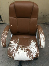 Office chair in need of TLC