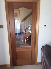 Mahogany internal doors