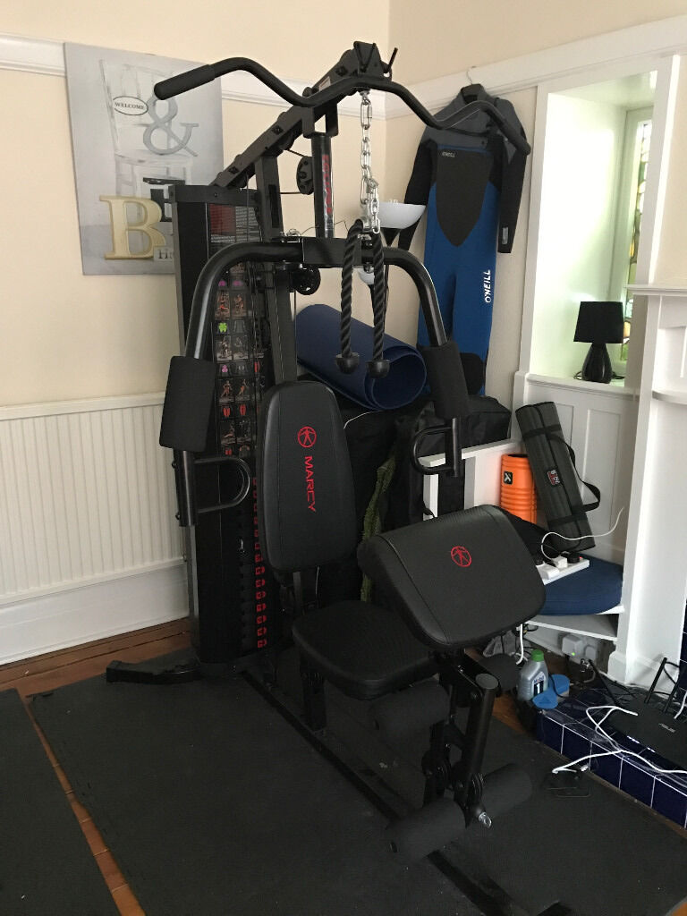 Marcy eclipse hg compact home gym with weight stack
