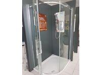 EX Display ''MERLYN'' Quadrant shower 1200 x 900 x 9
