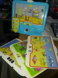 Peppa pig toy TV
