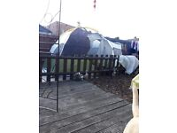 9 man tent very good condition easy to asemble bargain £150 ovno