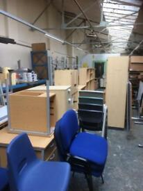 Office furniture following upgrade