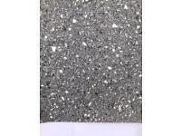 Grey vinyl flooring 4metres x 3metres