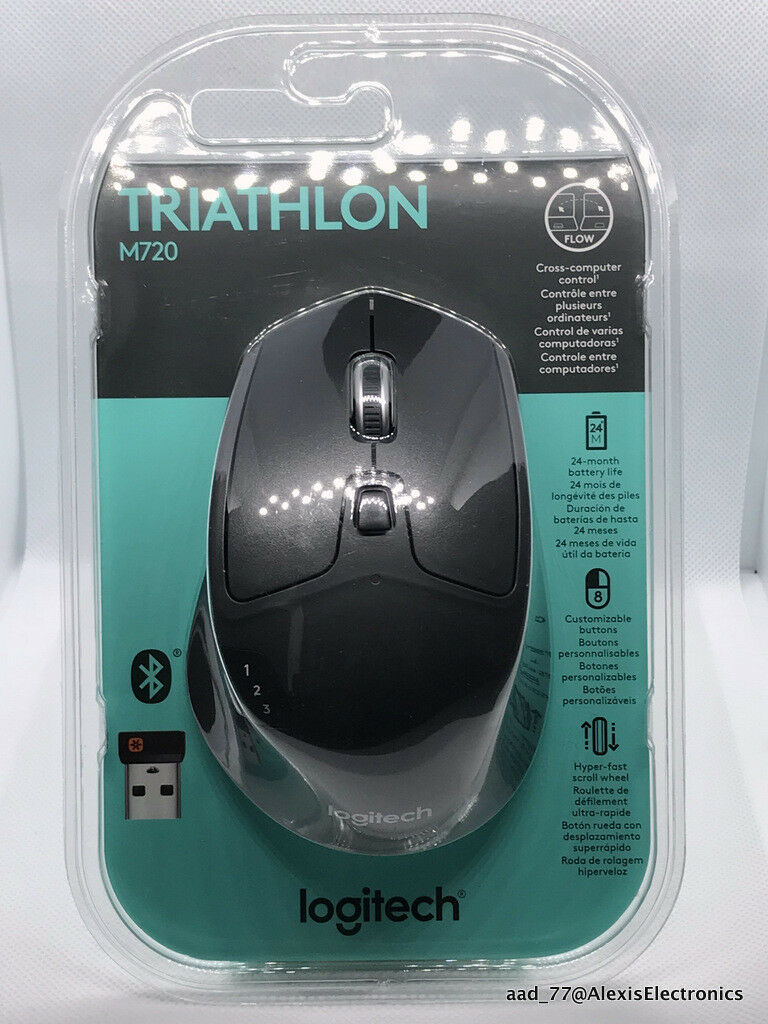 M720 Triathlon Multi-device Wireless Mouse