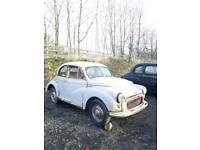 1956 Morris Minor split screen complete restoration project barn find spares or repairs
