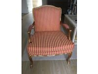 French Louis style armchair