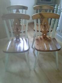 Farmhouse Chairs, Shabby Chic