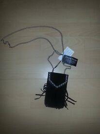 Brand New Black Seude Smartphone Case/ Cover/ Holder