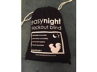 Easynight blackout blind curtain portable travel