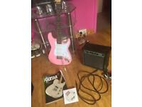 Electric guitar amp and accessories