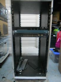 Computer Network Equipment Rack 19inch Rack cabinet with front rear covers