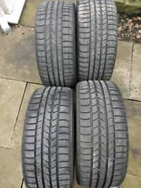 4x winter tyres 215 40 17