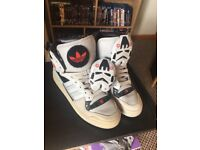 Rare Storm Trooper Adidas Desparados high tops