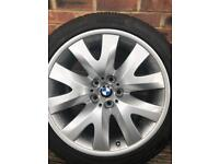 BMW 19in Alloy with new Pirelli tyre