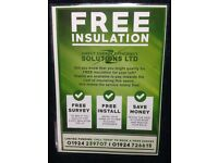 Free loft /cavity wall insulation
