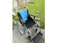 "G-LITE Pro Wheelchair 16"" like new"