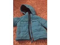 Ted baker boys coat 9-12 months
