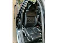 Recaro heated leather seats