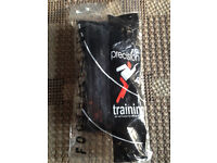 A pair of quality football socks, size 7-11, bargain at £5, brand new, costs £14.95