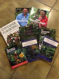 Gardening books bundle